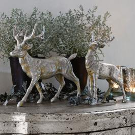 Lot de 2 cerfs Rudy & Son