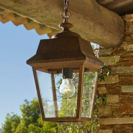 Lampe à suspendre extérieure Haironville