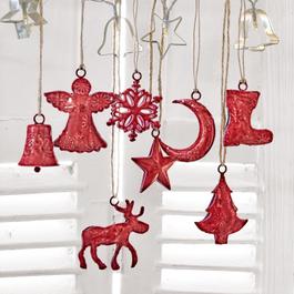 Lot de 8 décorations de Noël Rudy & Co.