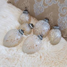 Lot de 6 décorations de Noël Laila