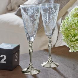 Lot de 2flûtes à champagne Coralie