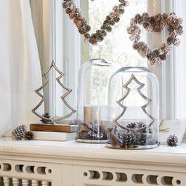 Lot de 2 décorations Arbre Lemuel