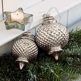 Lot de 6 décorations de Noël Planty