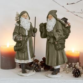 Lot de 2 Pères Noël Jonael