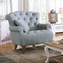 Fauteuil Springfield bleu-gris