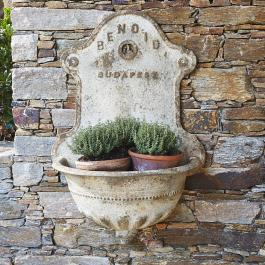 Pot de fleurs fontaine Korey