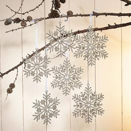 Lot de 6 décorations de Noël Lisette