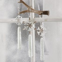 Lot de 3 décorations de Noël Marilou