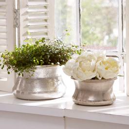 Lot de 2 vases Riona