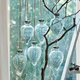 Lot de 6 décorations de Noël Aulnay