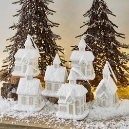 Lot de 6 décorations de Noël Legé