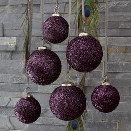 Lot de 6 décorations de Noël Évron