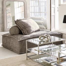 Canapé lounge Tesshill gris