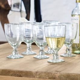 Lot de 6verres à vin Moière