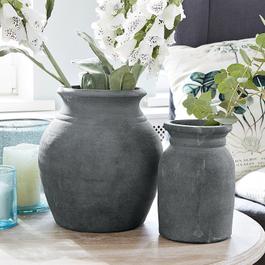 Lot de 2 vases Molduc