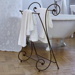 Porte-serviette Tamarin marron