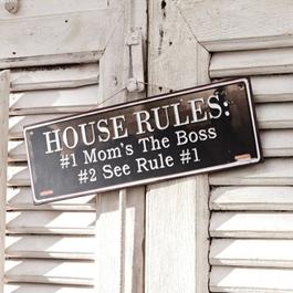 Panneau décoratif Rules for Life