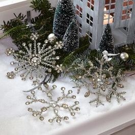 Lot de 3 décorations de Noël Gabriac