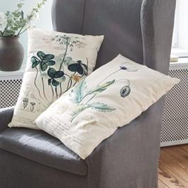 Lot de 2 coussins Botanical