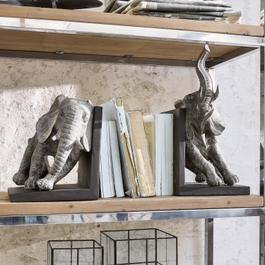 Lot de 2serre-livres Elephants