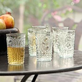 Lot de 6 verres Fleury