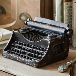 Machine à écrire décoratife Aimeric