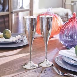 Lot de 2 flûtes à champagne Valériane