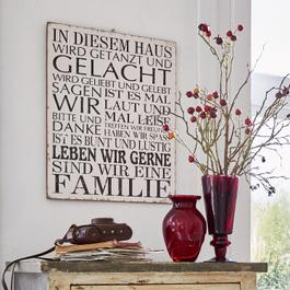Panneau décoratif Familie