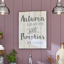 Panneau décoratif Autumn