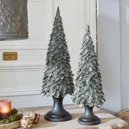 Lot de 2 decorations arbres Hamot