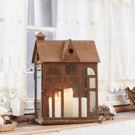 Lanterne Sweet Home cuivré