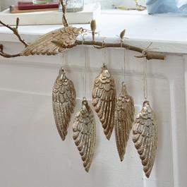Lot de 6 ailes d'ange Uriel