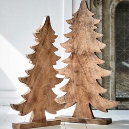Lot de 2 arbres décoratifs Leadan