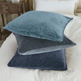 Lot de 3 coussin Amalina bleu/bleu clair/gris
