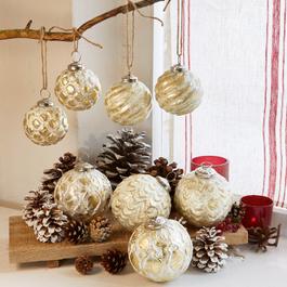 Lot de 8 décorations de Noël Imogen