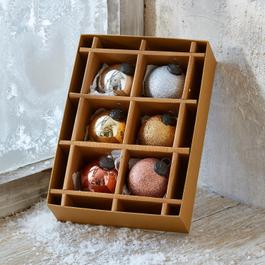 Lot de 6 décorations de Noël Thea