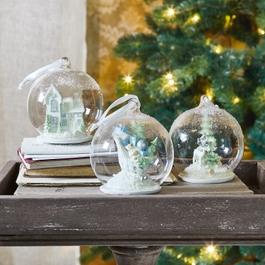 Lot de 3 décorations de Noël Winterland