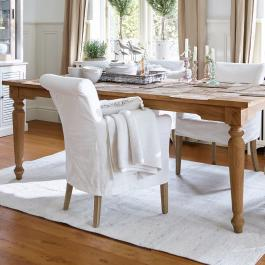 Fauteuil Amherst blanc