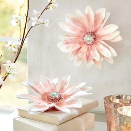 Lot de 2 fleurs décoratives Lisieux