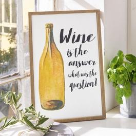 Panneau décoratif Wine