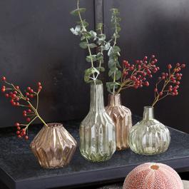 Lot de 4 vases Susann