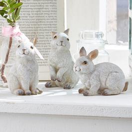 Lot de 3 lapins Anthony