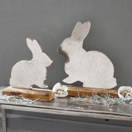 Lot de 2 lapins Guillaume