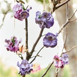 Lot de 6 fleurs déco Jacomo
