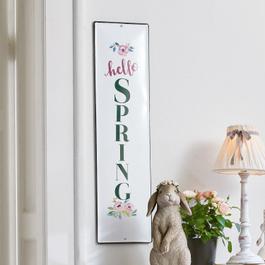 Plaque décorative Hello Spring