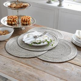 Lot de 4 sets de table Barningham