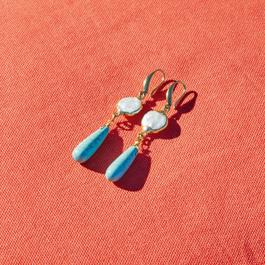 Boucles d'oreilles Laéna