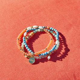 Lot de 3 bracelets Pía