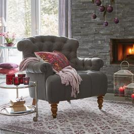 Fauteuil Springfield anthracite