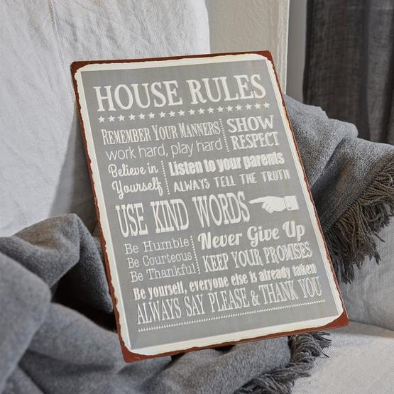 Panneau décoratif Rules